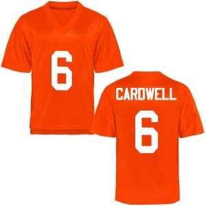 JayVeon Cardwell Oklahoma State Cowboys Men's Replica Football College Jersey - Orange